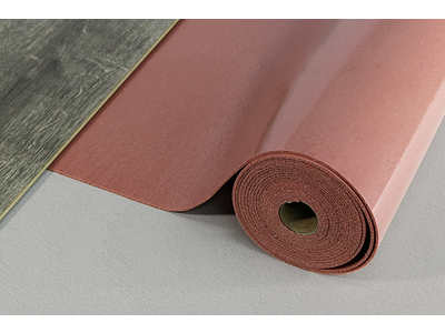 Acoustic Layer PUR 2.8, Polyurethan rotbraun, Rolle: 5,50 x 1,00 m = 5,50 m²