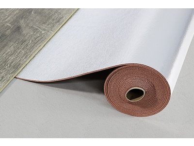 Acoustic Layer + PUR 2.8+, Polyurethan rotbraun/silber, Rolle: 5,50x1,00 m = 5,50 m²
