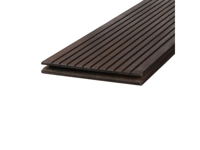 Terrassendiele Thermoholz DREAMDECK Bambus glatt / genutet - 22 x 180 mm