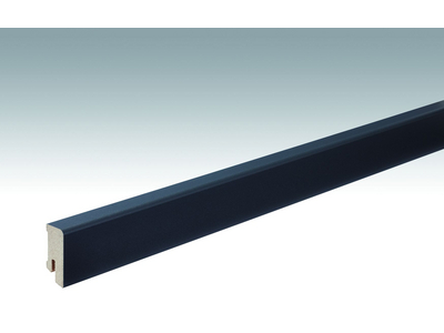 Folien-ummantelte Profile Fußleiste Profil 14 MK 2500x38x16mm 059 Anthrazit DF