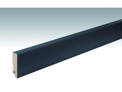 Folien-ummantelte Profile Fußleiste Profil 15 MK 2500x60x16mm 059 Anthrazit DF
