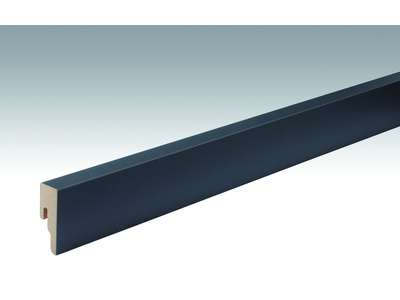 Folien-ummantelte Profile Fußleiste Profil 8 PK 2500x50x18mm 059 Anthrazit DF