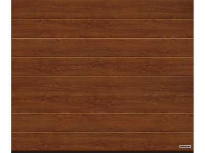 Garagen-Sectionaltor RenoMatic Decograin Dark Oak