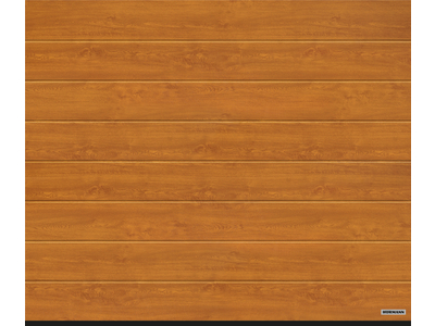 Garagen-Sectionaltor RenoMatic Decograin Golden Oak