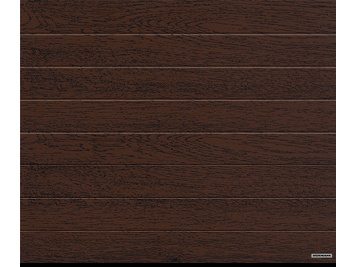 Garagen-Sektionaltor Decocolor Dark Oak, M-Sicke