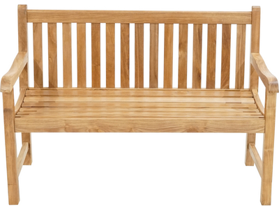 Landhausbank COVENTRY Premium-Teak natur 1300x640x900mm