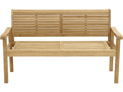 Landhausbank YORK Premium-Teak natur 1500x550x910mm