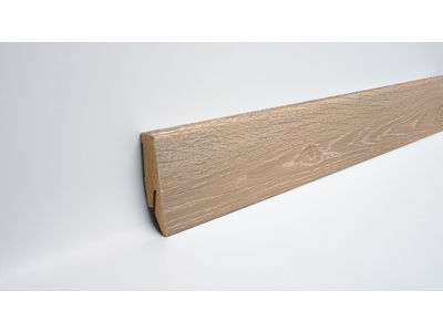 Sockelleiste Ktex 1, MDF 2987 Whitewashed Oak
