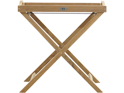 Tablett YORK Premium-Teak natur 680x450x730mm