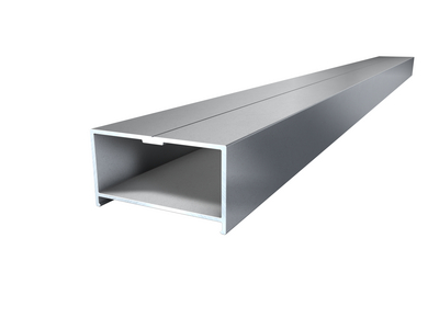 Terracon Aluminium Unterkonstruktion BASE Isostep silber 64,5x35x4000mm