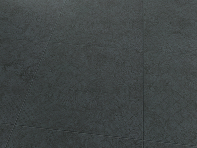 Vinylboden Dark Grey Ornamental 2587 Fliese - EXPONA SIMPLAY