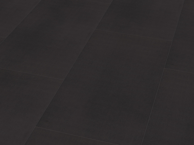 Klebe-Designboden Vinyl Solid Black Fliese - wineo 800 tile
