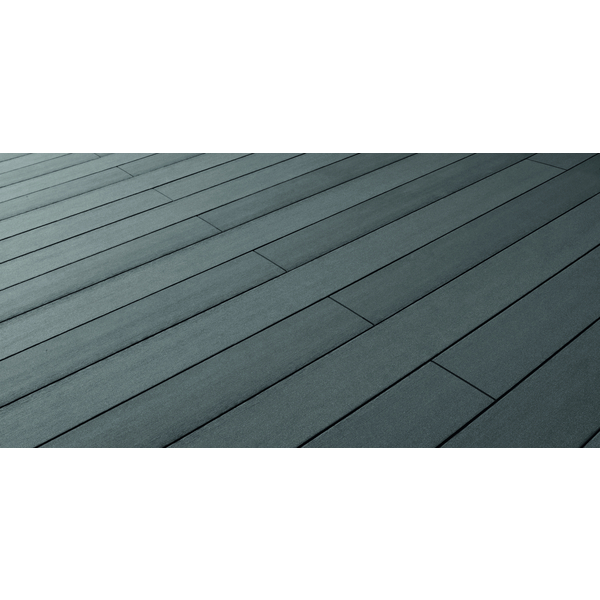 Favorit Terrassendiele WPC Massiv glatt graphit Terrafina - 21 x 146 mm TN17
